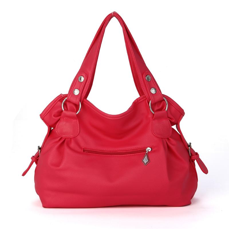 new 2015 fashion candy color leisure women bag bolsa feminina leather handbag single shoulder bag brand messenger bag for women(China (Mainland))