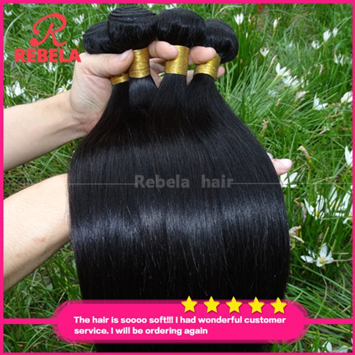 Unice Hair Filipino Virgin Straight 8A Grade Unprocessed Human Cheap Remy Bundles - Rebela hair products Co.,Ltd store