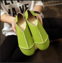 Springf Summer Style Ladies Soft Bottom Candy Colors Flat Shoes Hot Selling Women Fashion Round Toe Comfortable Casual Flats 15(China (Mainland))