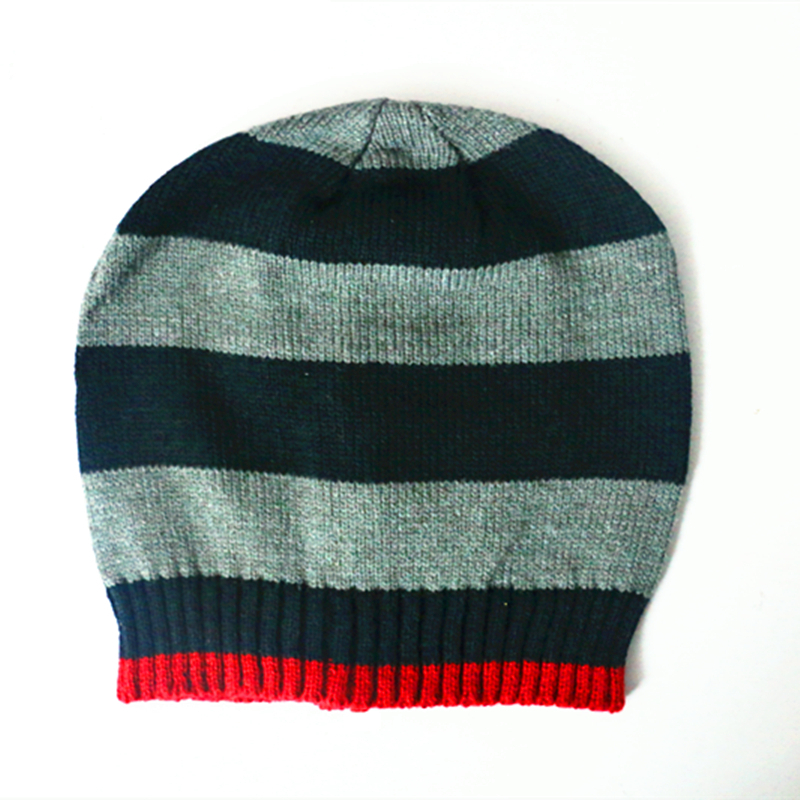 Cute wool cap children 's hat autumn and winter protection of the ears of men and women baby head cap pure color knitting F-09(China (Mainland))