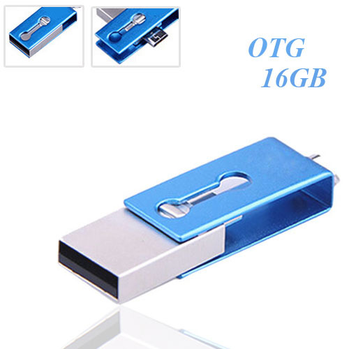High quality waterproof Mirco OTG USB flash drive 16gb for OTG function Android Smartphone mini usb stick memory drive(China (Mainland))