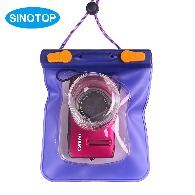 PVC Video Protection Bags Soft Digital Water Covers 20M Underwater Photography For Canon Waterproof Underwater Camera Case S5(China (Mainland))