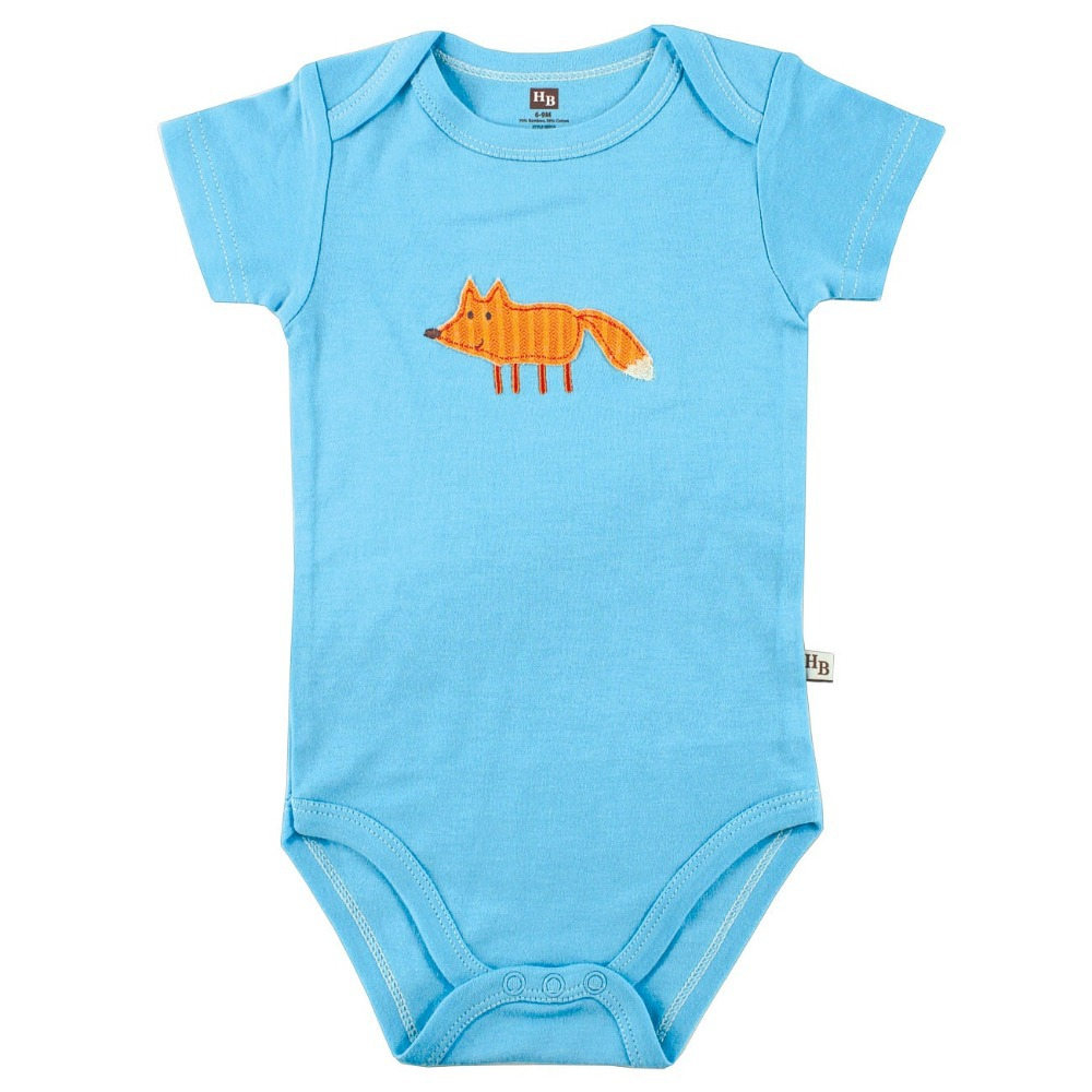 Hot Sale Hudson Baby Bamboo Cotton Animal Romper Baby