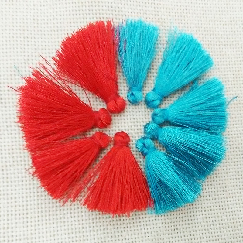 fiber Tassel earring charms tassels necklace findings cell phone case bag accessories strap key chains rings fringe ornament diy(China (Mainland))