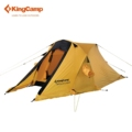KingCamp Portable Camping Tent Durable Waterproof Windproof 2 Person 4 Season Outdoor Tent for Hiking Mountaineering