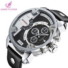 Original hombres corriendo calzado deportivo reloj de cuero reloj weide hombre 30 m impermeable reloj relojes weide relogio weide