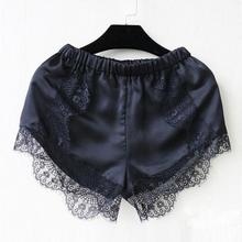 New 2016 Fashion Women Summer Short Pants Girl Elastic Casual Shorts Fitness Clothing Black/ White Beach Lace Short Pants