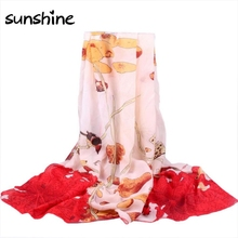 Designers Scarves Women Retro Totem Printed Long Chiffon Wrap Scarf Summer/Autumn Ladies Soft Shawls Scarves Stoles #JO(China (Mainland))