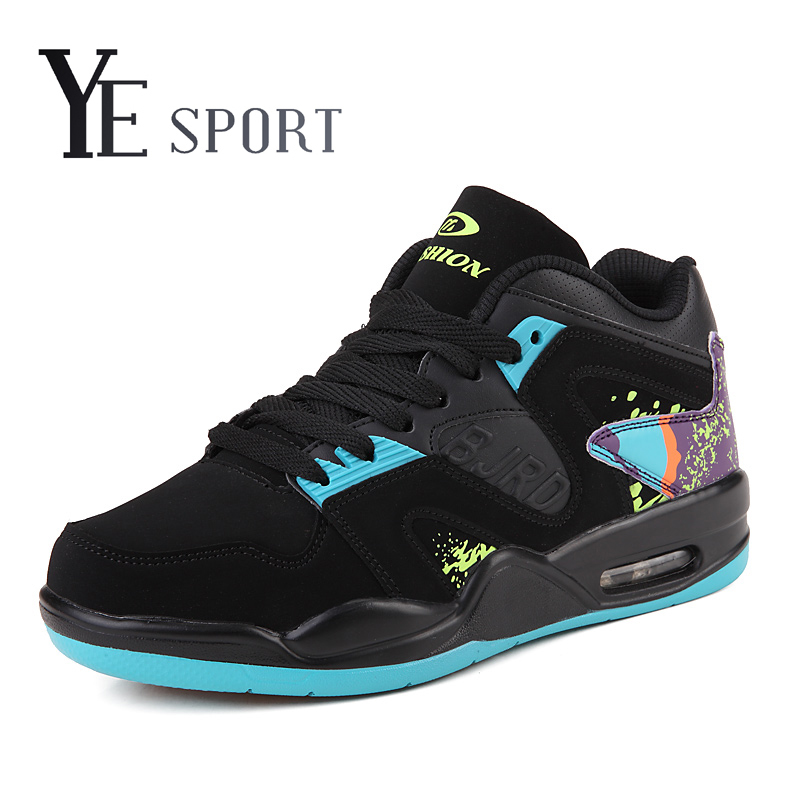YE Sport Mid Cut Mens Basketball Sneakers Air Sole Basketball Shoes Rubber Sole Anti-Friction Sport Shoes Chaussure Homme<br><br>Aliexpress