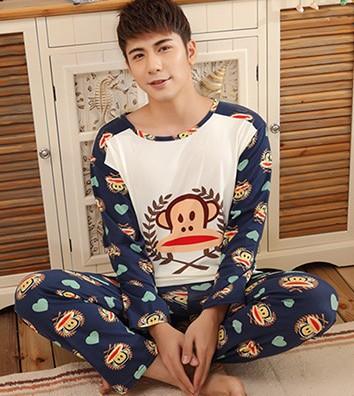 white Cow Fashion autumn winter women's pajamas set, women cotton clothing set,sweet female lady twinset nightwear sleepwear - Love Kitty =^_^= store