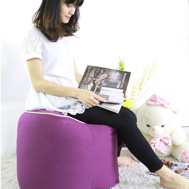FREE SHIPPING 40*55cm heart shape bean bag stool cushion lounger home living room beanbags sofa cover without filling()