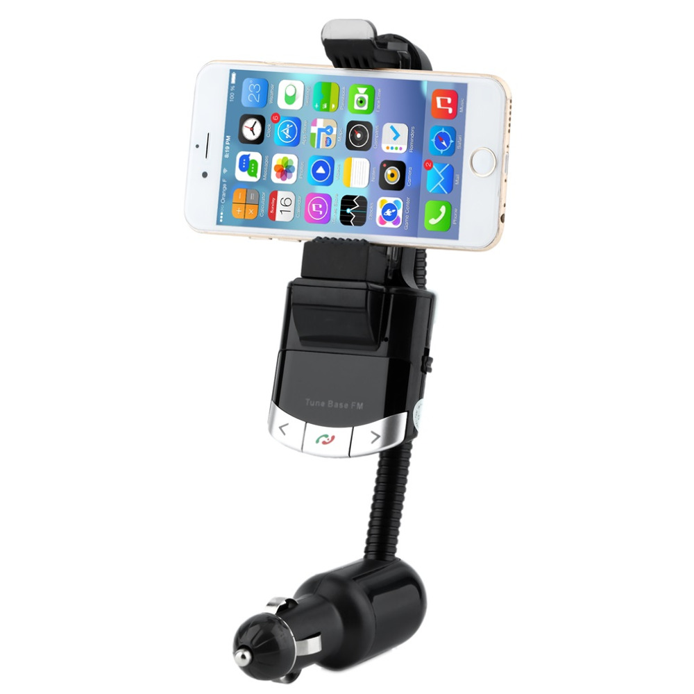 3 in 1 Car FM Transmitter Car Kit Car Phone Holder Charger Handsfree MP3 Player Car Fm Transmitter for Samsung for iphone/IPOD(China (Mainland))