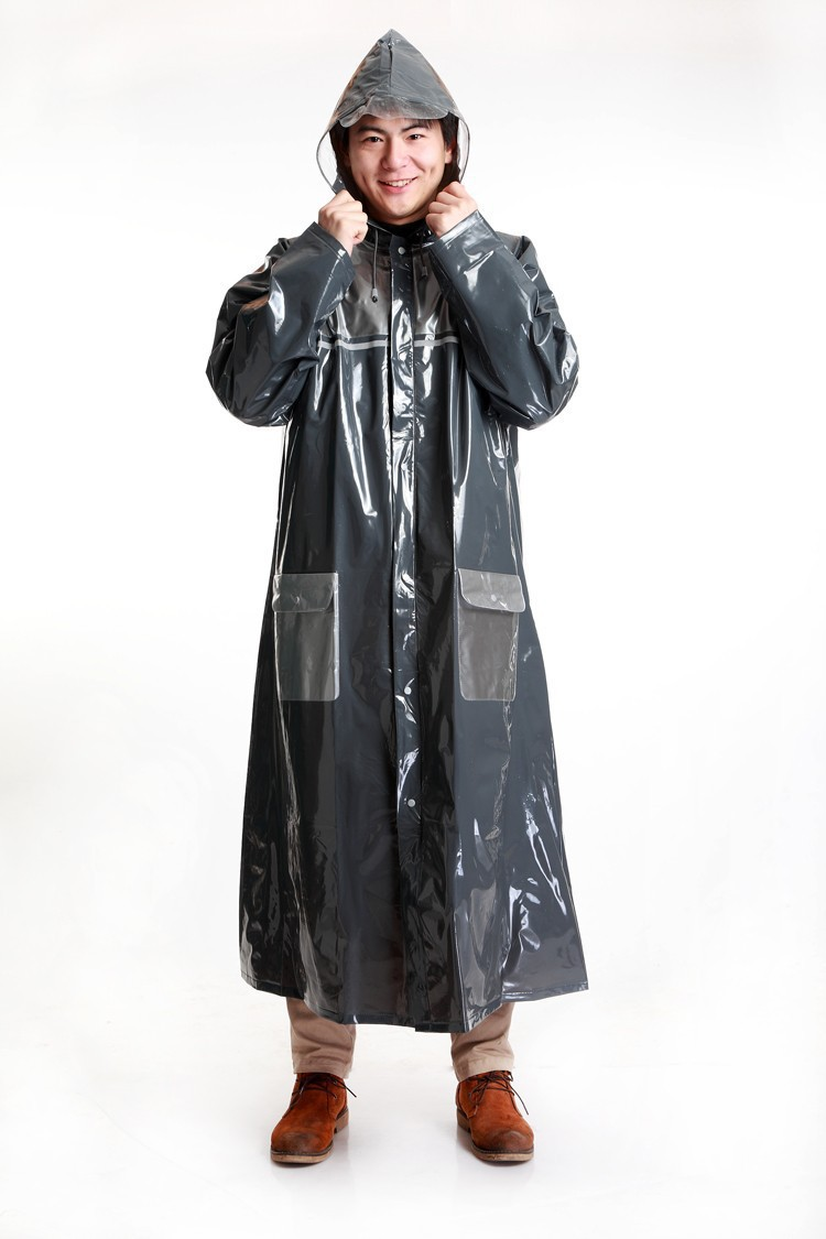 new men women cheap raincoat rain wear thick long big motorcycle cycling rain coat travel. Black Bedroom Furniture Sets. Home Design Ideas