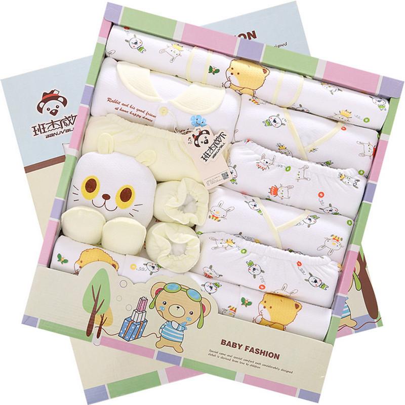 Baby Gift Set Zwitsal : Thicken warm cotton pieces baby gift set autumn