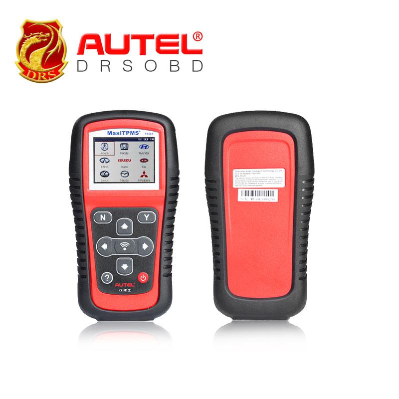 100% Original AUTEL MaxiTPMS TS501 TPMS diagnostic & service tool activate OEM / Universal TPMS sensors + reprogram vehicle ECU(China (Mainland))