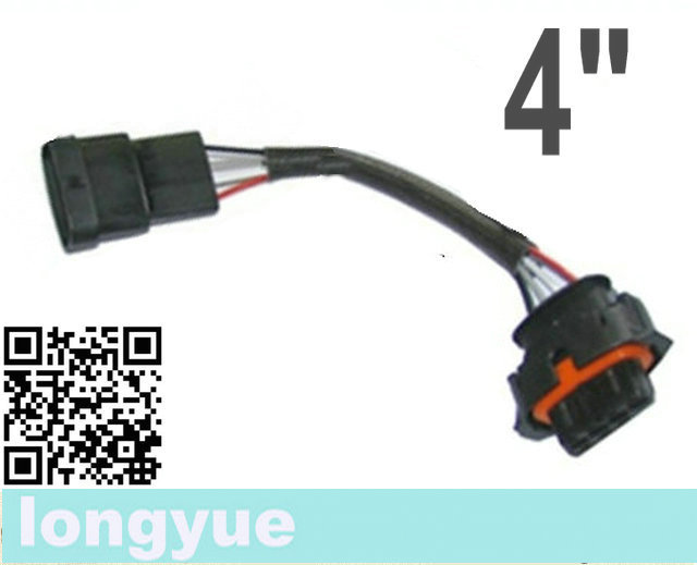 factory sale 20pcs/unit 4 way/pin  BSK map sensor harness male &amp;  female extension 4<br><br>Aliexpress