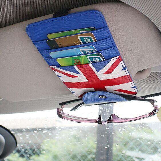 Car bank Cards practical case for mini cooper f55 f56 R50 R52 R53 R56 R60 paceman jcw union jack accessories(China (Mainland))