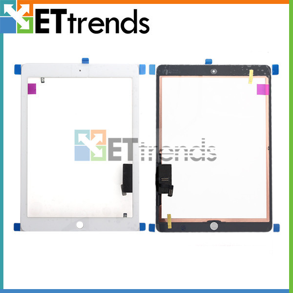 New Touch Screen Digitizer For iPad Air Black White DHL Free Shipping(China (Mainland))