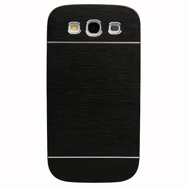 Ultrathin Matte Brushed Aluminum shell hard cover Metal Aluminium case For samsung s3(China (Mainland))