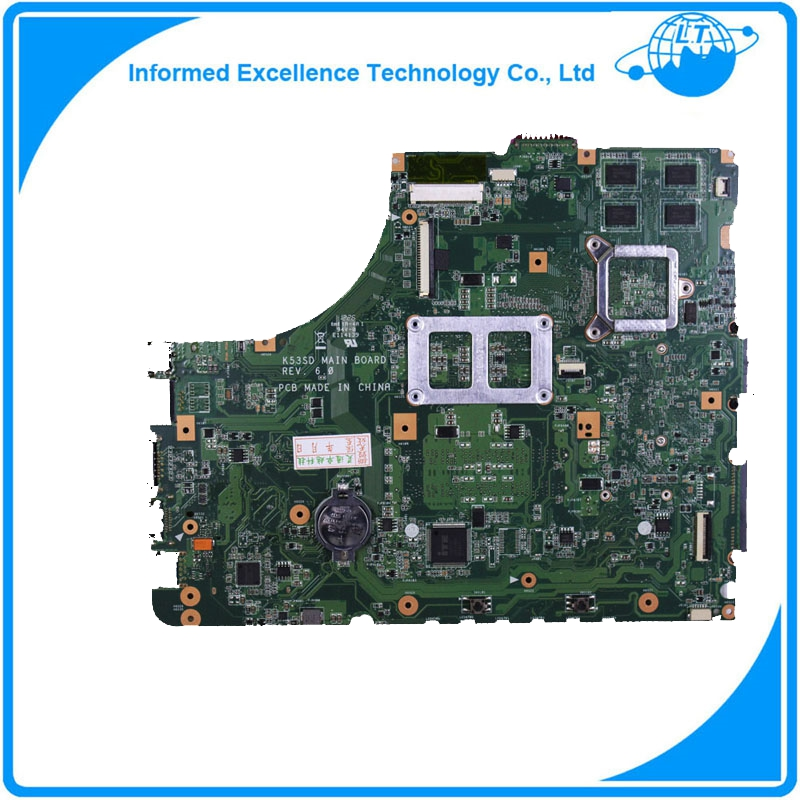 For Asus K53SD laptop motherboard mainboard REV 6.0 / 5.1 high quality <br><br>Aliexpress