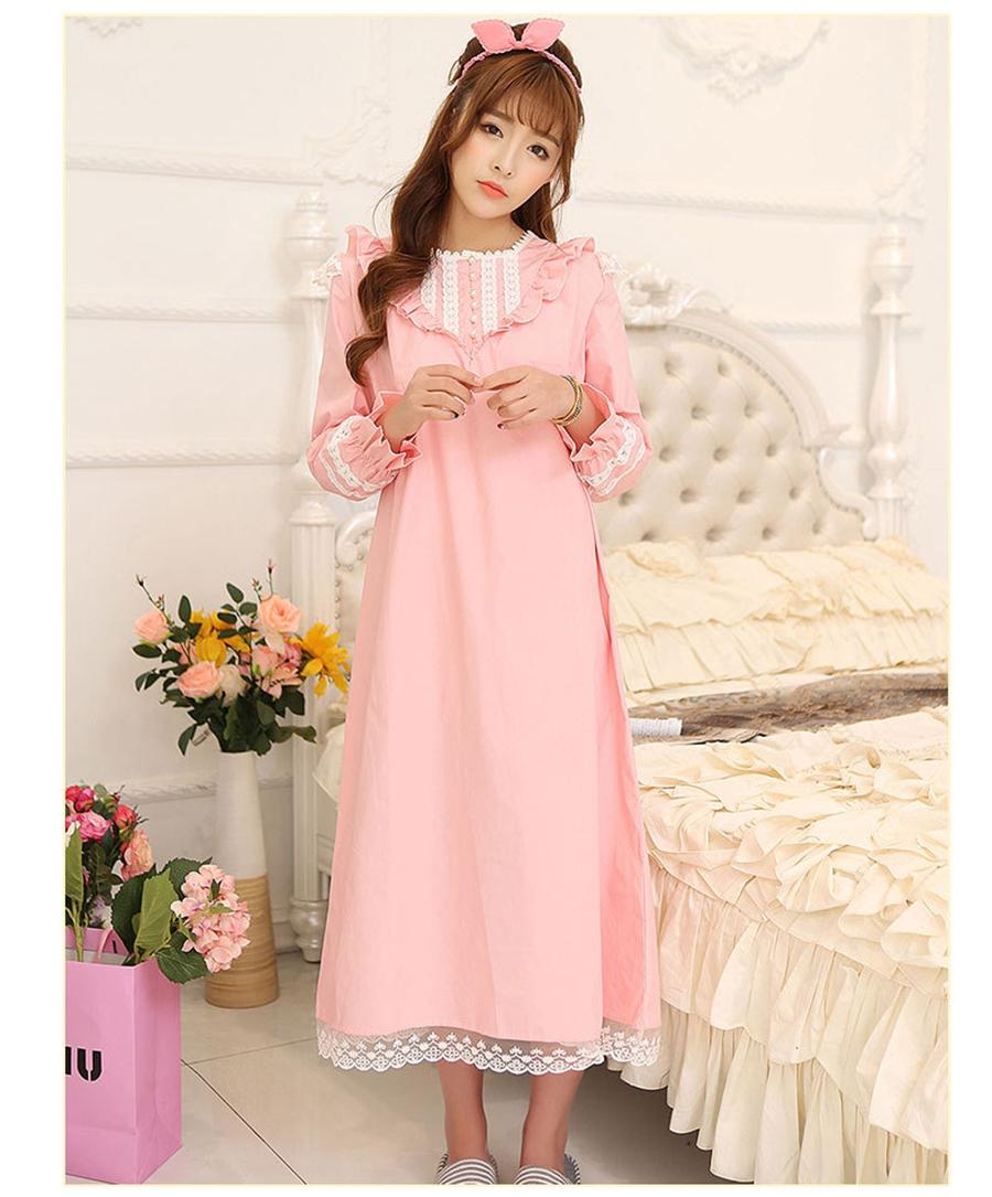 longue romantique chemises de nuit promotion achetez des longue romantique chemises de nuit. Black Bedroom Furniture Sets. Home Design Ideas