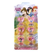 Disney 6PCS Spiderman dos desenhos animados Congelado Princesa Aisha carimbado selo ferramentas fontes da arte de Desenho do brinquedo das crianças brinquedos de presente(China)