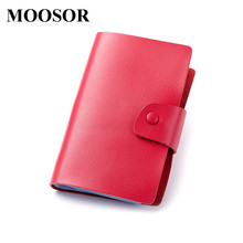 Buy 2017 New Genuine Leather Women Men ID Card Holder Card Wallet Purse Credit Card Business Card Holder Protector Organizer DC167 for $14.99 in AliExpress store