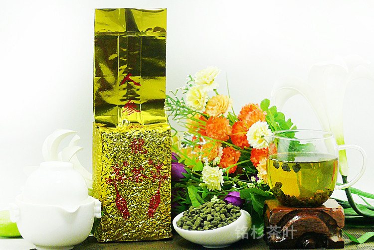 500g Taiwan Green Ginseng Gao Shan Tea Jin Xuan Milk Oolong Tea Fragrance Wulong Tea Health