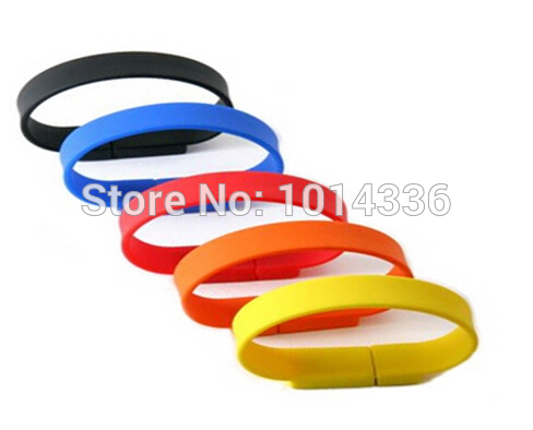 2G 4GB 8G 16G fashion Bracelet Wristband USB Flash Drive Memory Disk Card Stick Thumb/Car/Pendrive Key U Disk/Creativo Gift S363