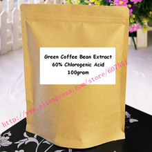 100gram Green Coffee Bean Extract Powder 60 Chlorogenic Acid weight control