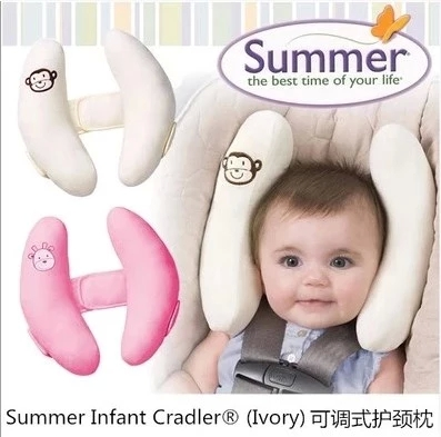 2015 Baby Adjustable Head Protection Pillow Neck Travel Car Seat Stroller Child Safety 0-5 years - happy store520 store