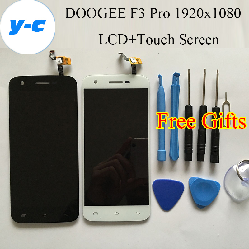 DOOGEE F3 Pro LCD Display+Touch Screen New Original Digitizer Glass Panel Assembly 1920x1080 FHD 5.0inch Phone - YongChuang Electronics (HK store Co .,Ltd)
