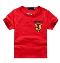 Boy summer t shirt children car print 100% cotton t shirt for boys nova kids t shirt for boys summer style children clothing(China (Mainland))