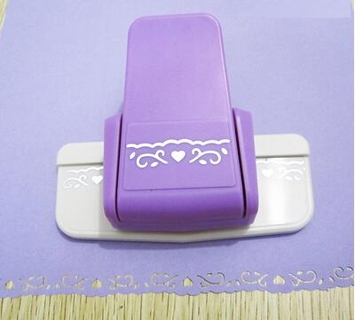 New arrival wisteria shape border punch foam paper embossing punch Edge craft punch scrapbook punches for paper cut(China (Mainland))