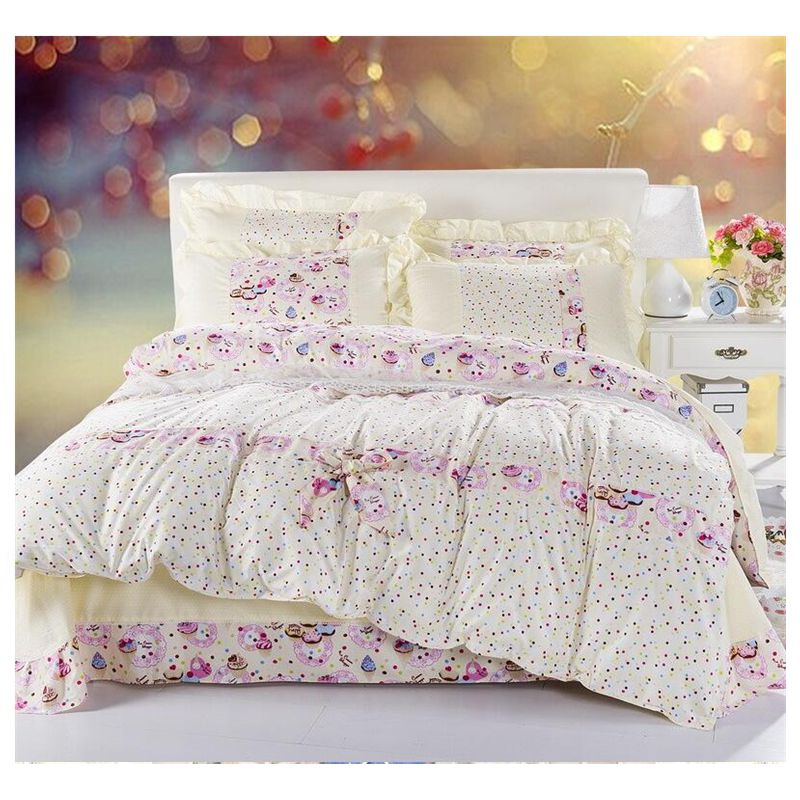 Bedding set ropa de cama comforter sets curtains edredones for Sabanas para cama queen size