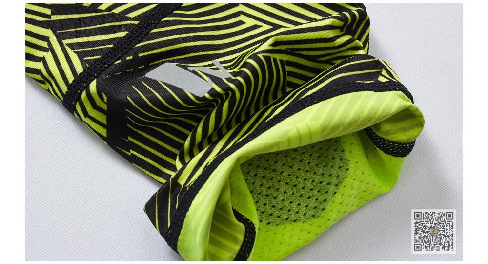 Vansydical Geometric Skinny Sport Yogo Fight Shorts for Men (19)