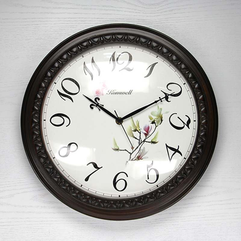 Achetez en gros grand rond horloges en ligne des for Grande horloge murale moderne