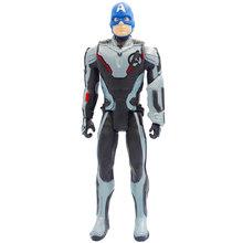 Brinquedos quentes 30 centímetros Vingadores Hulk Homem de Ferro Homem Aranha Capitão América Marvel Thanos Endgame Pantera Negra Thor Figura de Ação boneca Crianças(China)