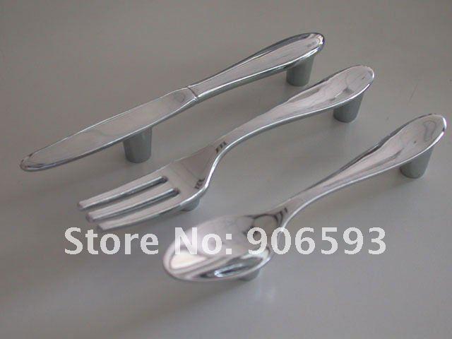 15 pcs lot creative couteau fourchette cuill re cuisine - Boutons et poignees de meubles ...