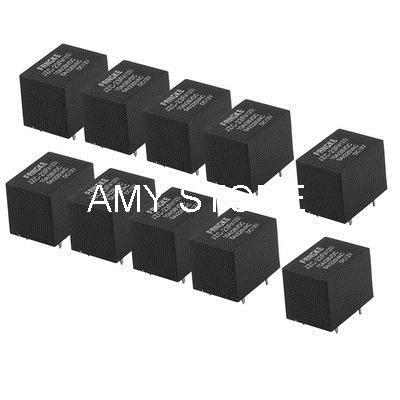 Black General Purpose Power Electromagnetic Relay DC 12V Coil JZC-23F4123(China (Mainland))