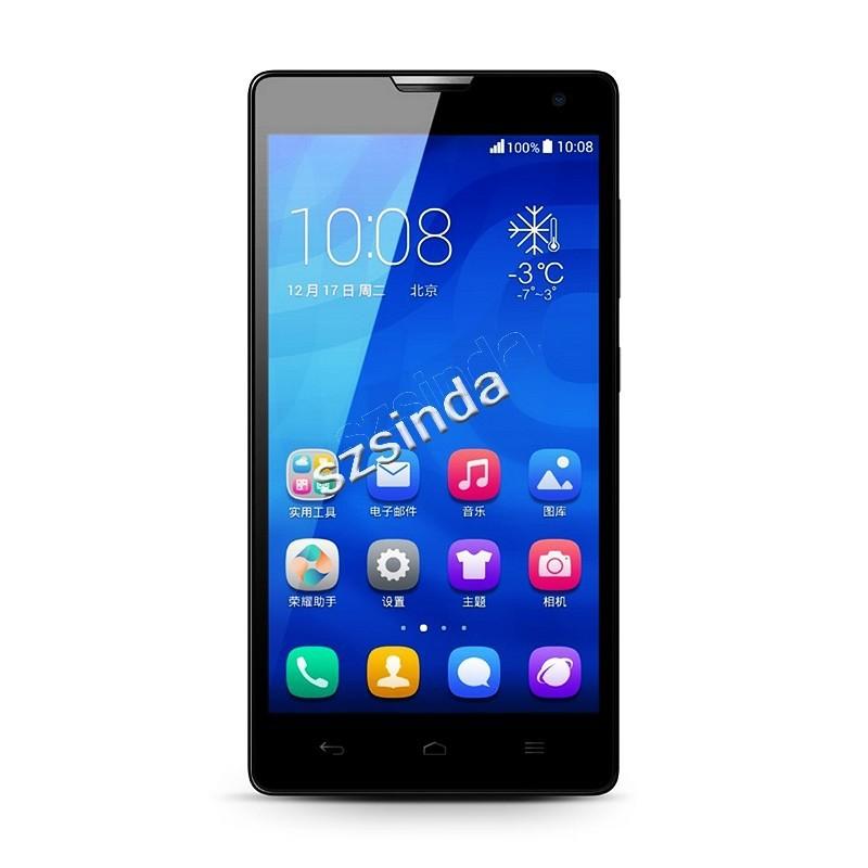 Original HUAWEI Honor 3C WCDMA version Quad Core android phone MTK6582 2GB Ram 5.0Inch 1280*720 px dual Sim 3G Cell phone/Jessie(Hong Kong)