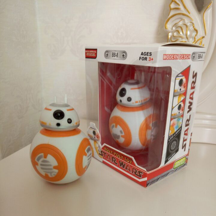 Star Wars Force Awakens BB8 BB-8 Droid Robot Action Figure 5 inch - For The Cure One store