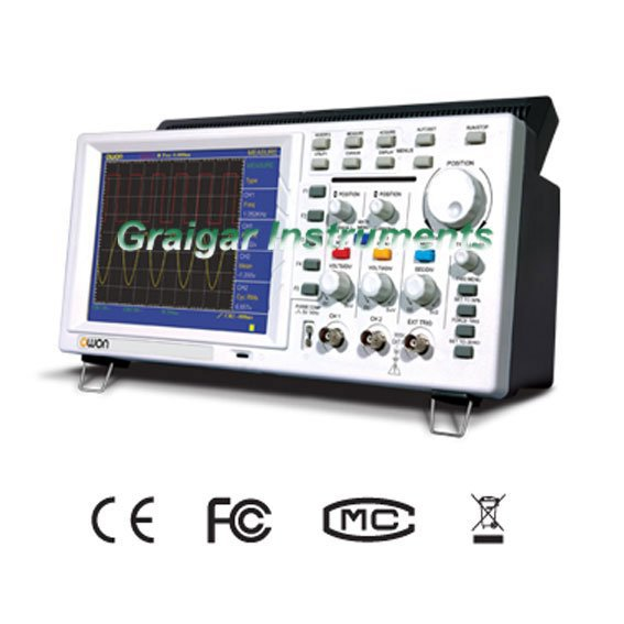 Free Shipping OWON PDS5022S Portable Digital Storage Oscilloscope 25MHz<br><br>Aliexpress