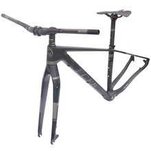 "Buy 2017 FCFB mtb frame mtb bike frame carbon mountain carbon frame 29er*15.5"" 17/19inch carbon handlebar seatpost stem saddle for $322.00 in AliExpress store"