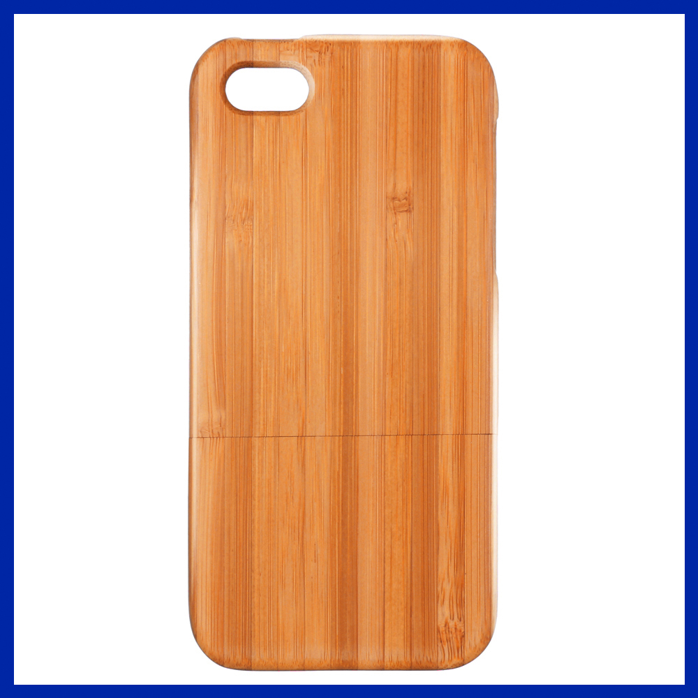 Natural Handmade Hard Wood Bamboo Case Back Cover for iphone 5 5s High Quality Hard Wooden Phone Case(China (Mainland))