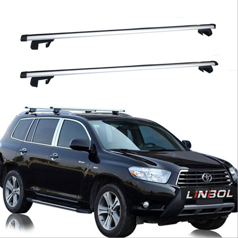Universal 130cm Car Roof Rack Cross Bar For Auto SUV Offroad with Anti-theft Lock Load 200LBS Top Cargo Luggage Carrier(China (Mainland))