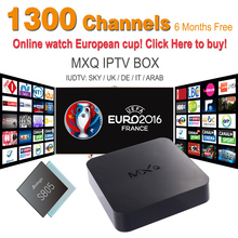 2016 Android tv Box with 6months IPTV Subscription IUDTV SKY IT UK DE IPTV Box free shipping
