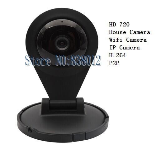 HD 720P WIFI IP Camera Wireless SD Card Slot 1.0 MegaPixel CMOS LENS IR Cut 720p(1280x720)Mini - Shenzhen K-Lin Yuan Technology Co., Limited store