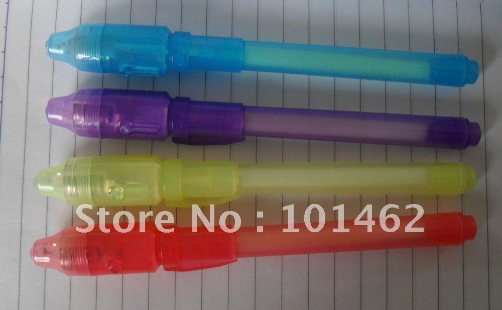 Free shipping invisible pen-magic UV light  pen- 200pcs/lot,competitive price, delivery time within 3days     CH0813<br><br>Aliexpress