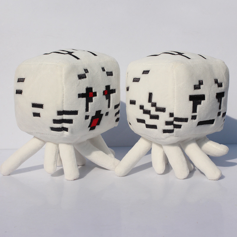 10pcs/lot 15cm Minecraft plush Minecraft Ghast plush Large Ghast Special offer(China (Mainland))